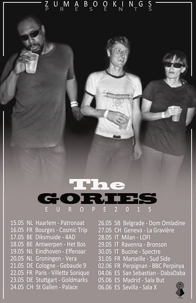 The Gories live in Italy ! 1 Iyezine.com
