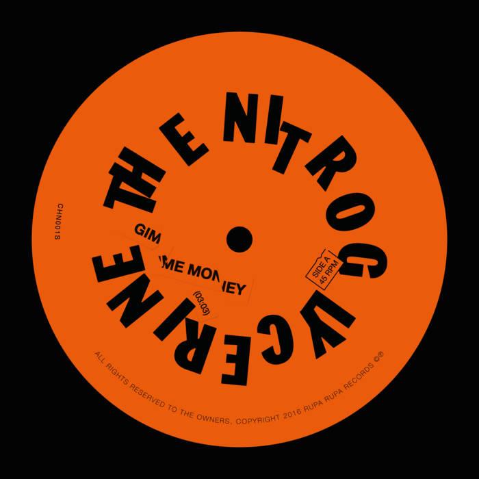 The Nitroglycerine – 7' s/t 3 - fanzine