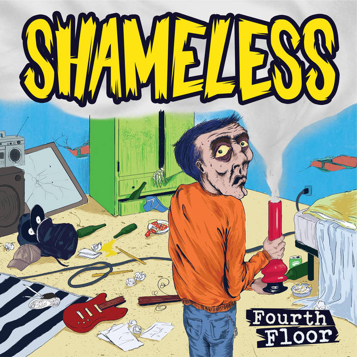 "Shameless - Fourth Floor - 7"" 6 - fanzine"