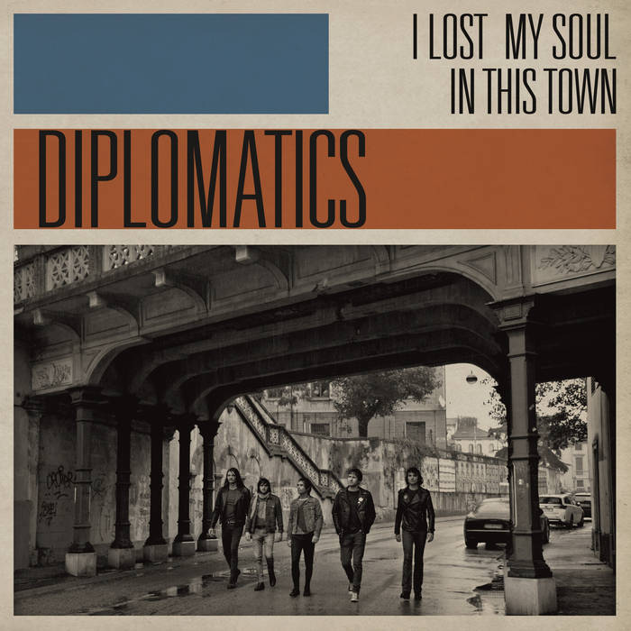 Diplomatics - I Lost My Soul In This Town 10 - fanzine