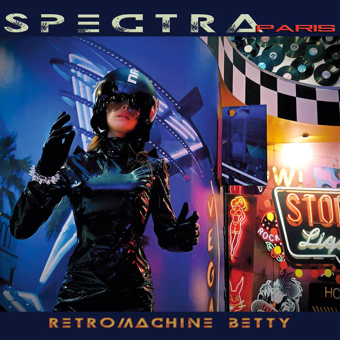 SPECTRA*paris – Retromachine Betty 1 - fanzine