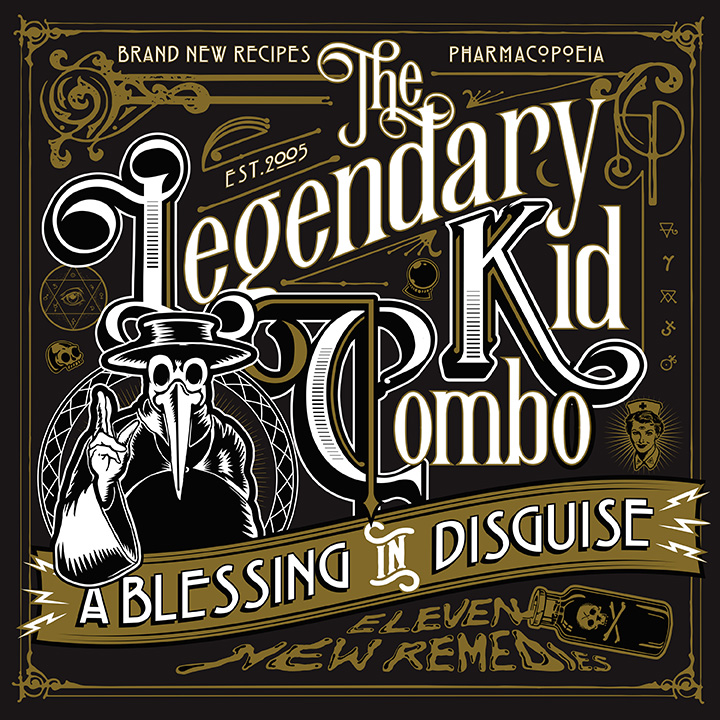 The Legendary Kid Combo - A Blessing In Disguise 1 - fanzine