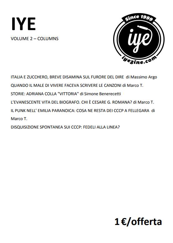 IYE - VOLUME 3 - Epi 2 - fanzine
