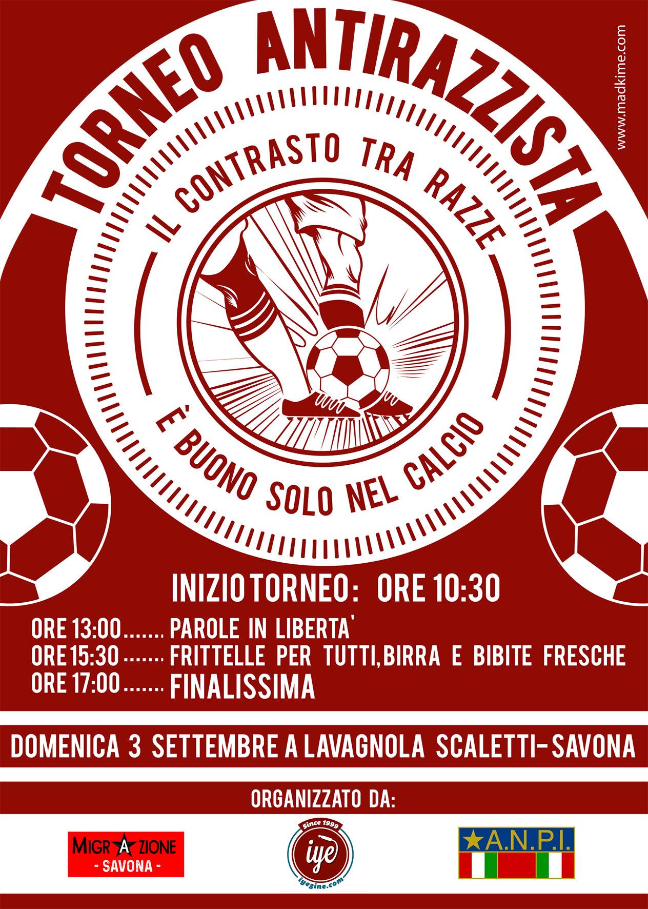 TORNEO DI CALCIO ANTIRAZZISTA SAVONESE 2017 4 - fanzine