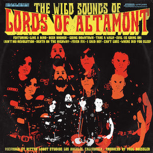 Lords Of Altamont - The Wild Sounds Of The Lords Of Altamon 1 - fanzine