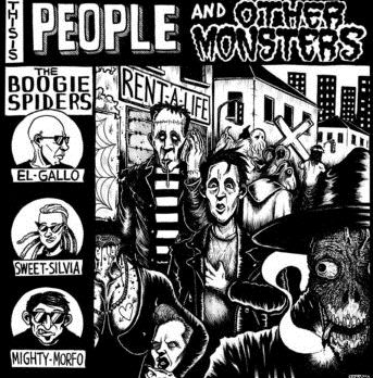 The Boogie Spiders - People and Other Monsters 1 - fanzine