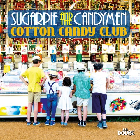 Sugarpie And The Candymen - Cotton Candy Club 8 - fanzine