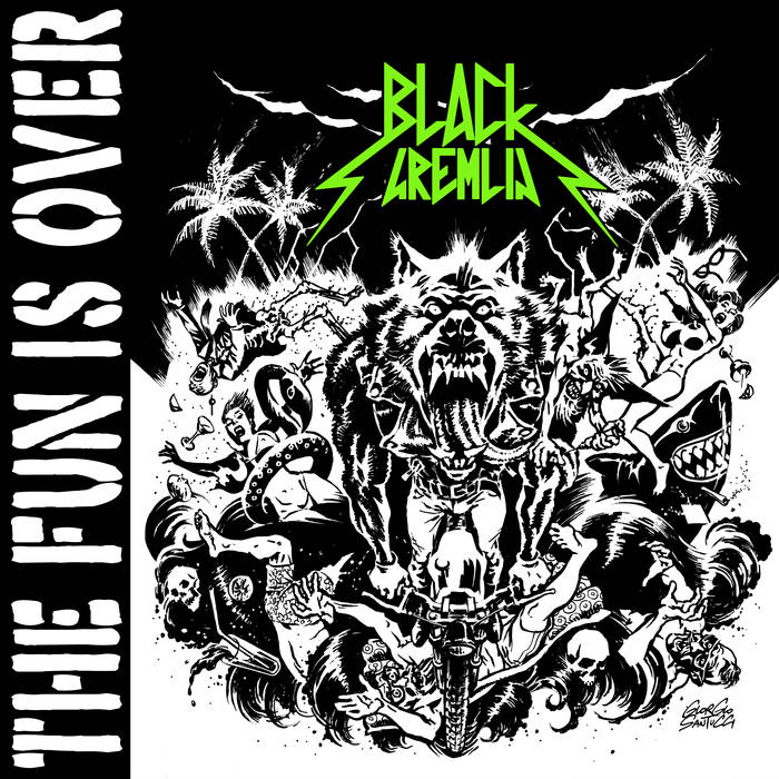 Black Gremlin - The Fun Is Over 1 - fanzine
