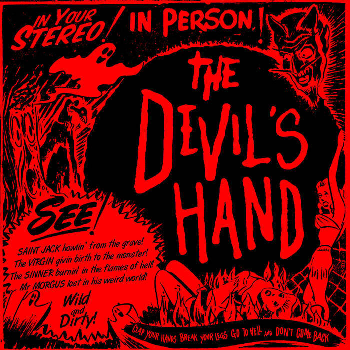 The Devil's Hand - 4 Tracks Demo 11 - fanzine