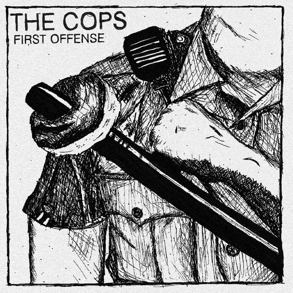 THE COPS - FIRST OFFENSE 1 - fanzine