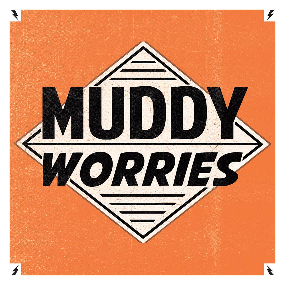 "Muddy Worries - Omonimo 7"" 7 - fanzine"