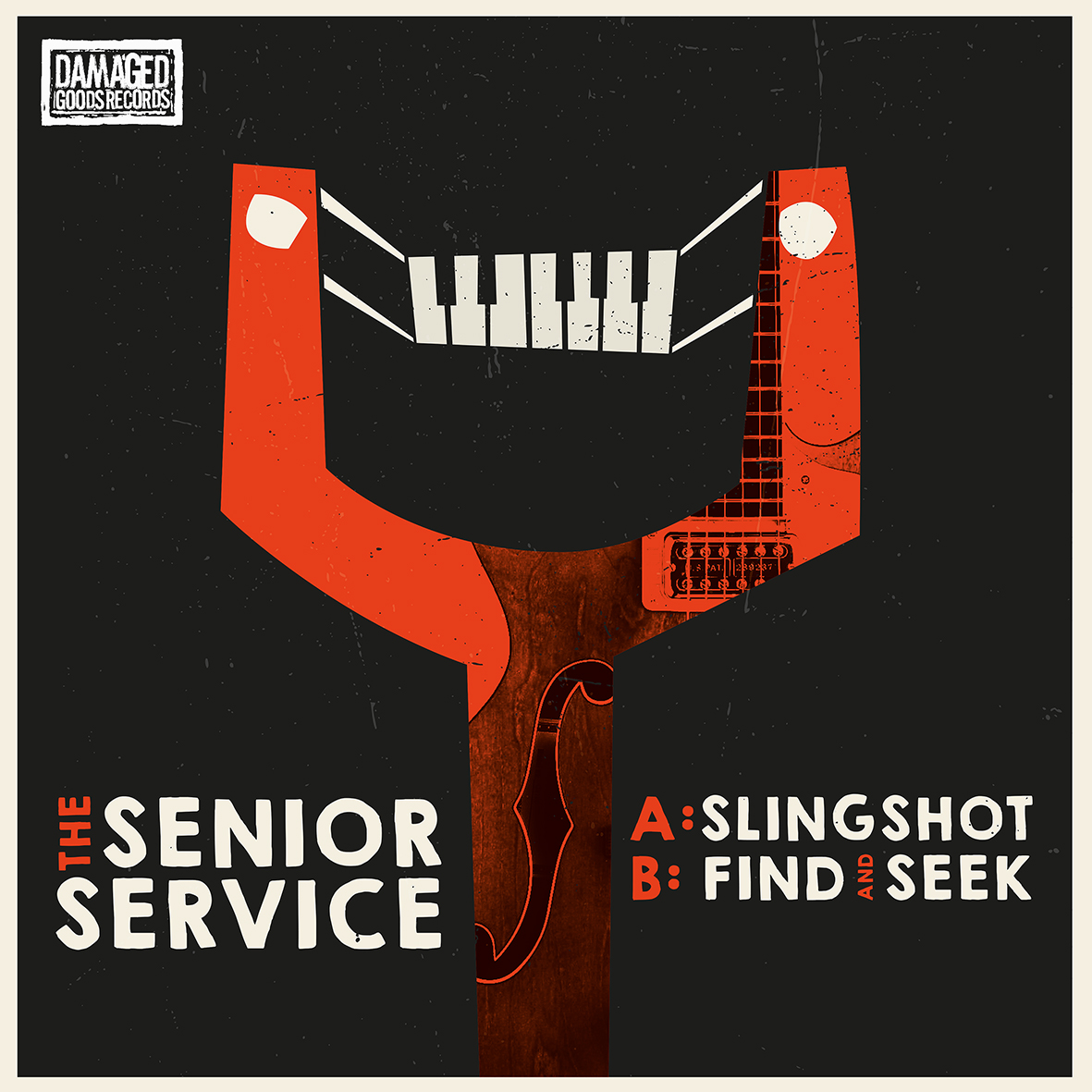 "The Senior Service - Slingshot 7"" 4 - fanzine"