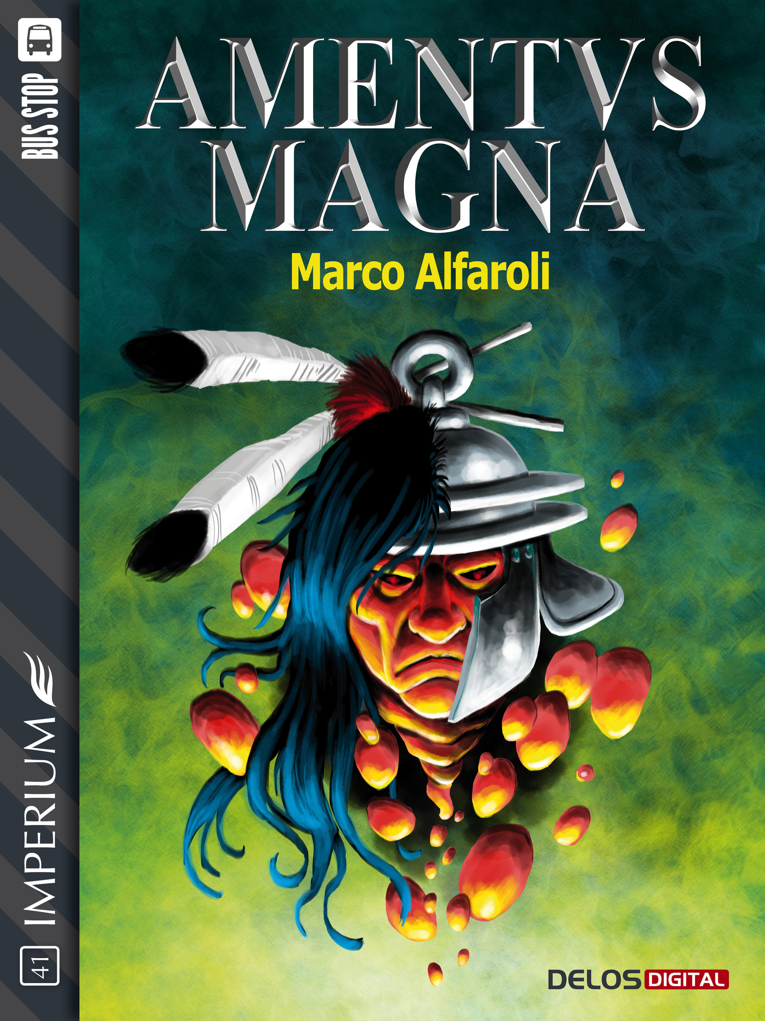 Marco Alfaroli – Amentus Magna (Delos, 2017) 1 - fanzine