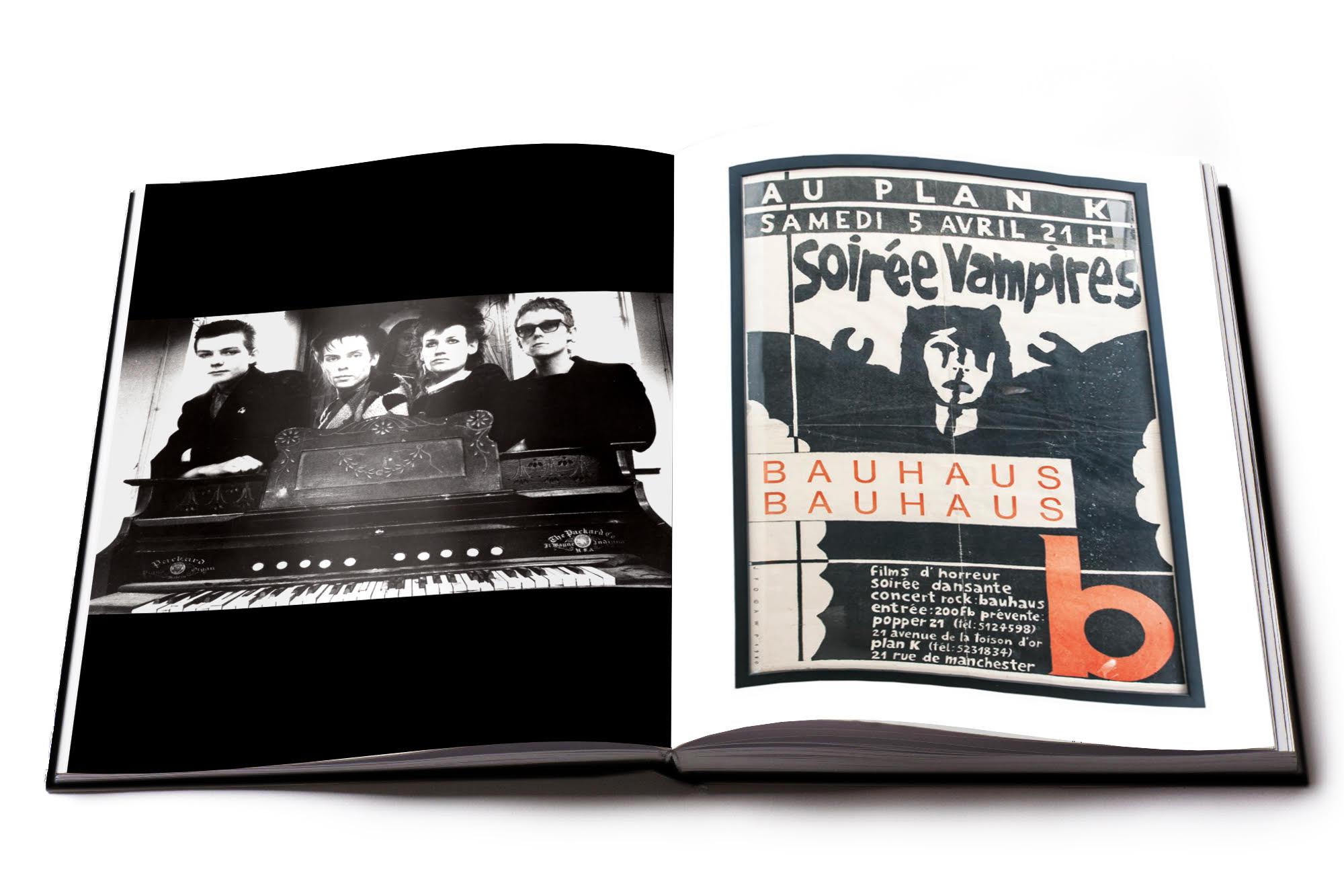 KEVIN HASKINS - Bauhaus - Undead' Art Book 1 - fanzine