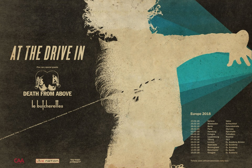 At The Drive-in - Parigi, 28 Febbraio 2018 1 - fanzine