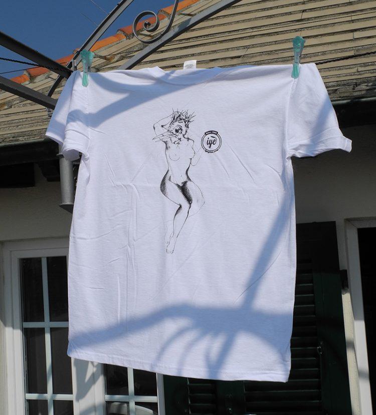 Tshirt grafica Enrico Mazzone 2 - fanzine