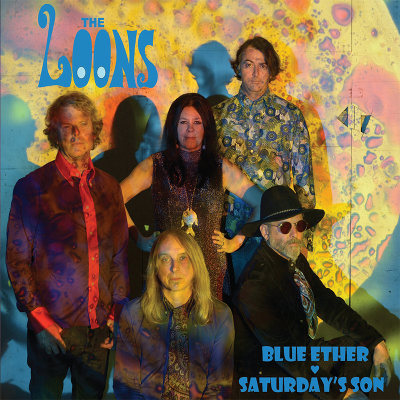 "The Loons - Blue Ether / Saturday's Son 7"" 7 Iyezine.com"