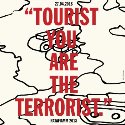 Ratafiamm - Tourist You Are The Terrorist 11 - fanzine