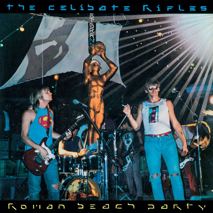 The Celibate Rifles - Roman Beach Party 1 - fanzine