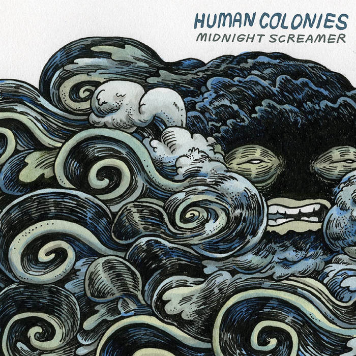 "Human Colonies - ""Midnight Screamer"" 11 - fanzine"