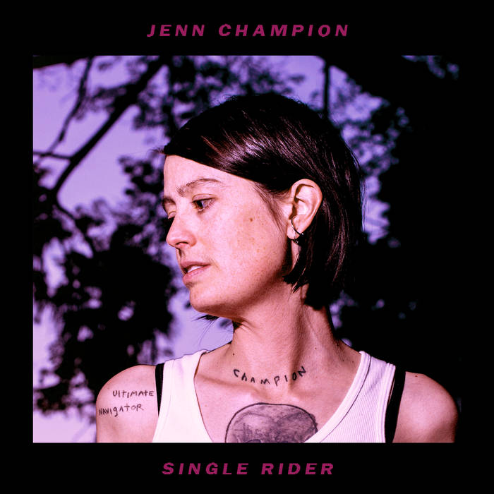 Jenn Champion - Single Rider 1 - fanzine