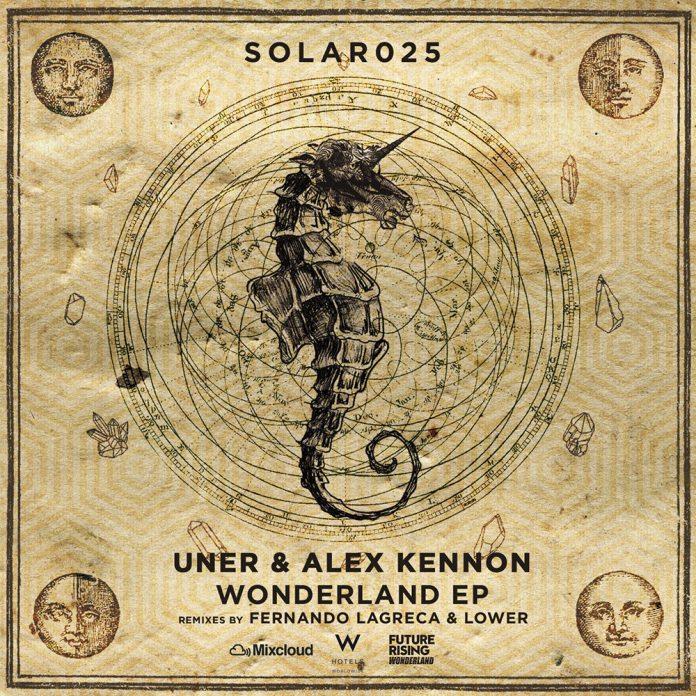 UNER & Alex Kennon - Wonderland Ep 1 - fanzine