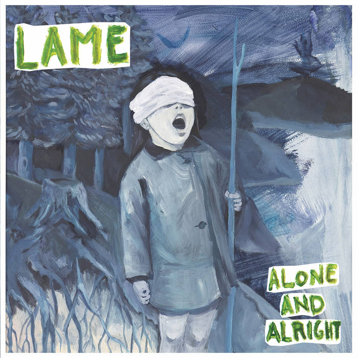 Lame - Alone And Alright 5 - fanzine