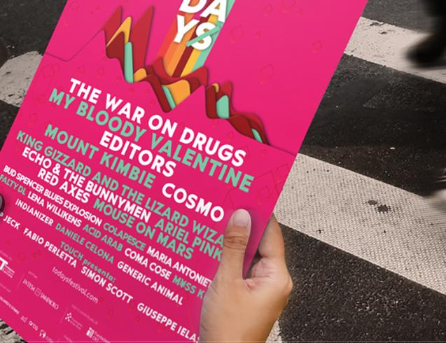 GIANLUCA GOZZI - TODAYS FESTIVAL 1 - fanzine