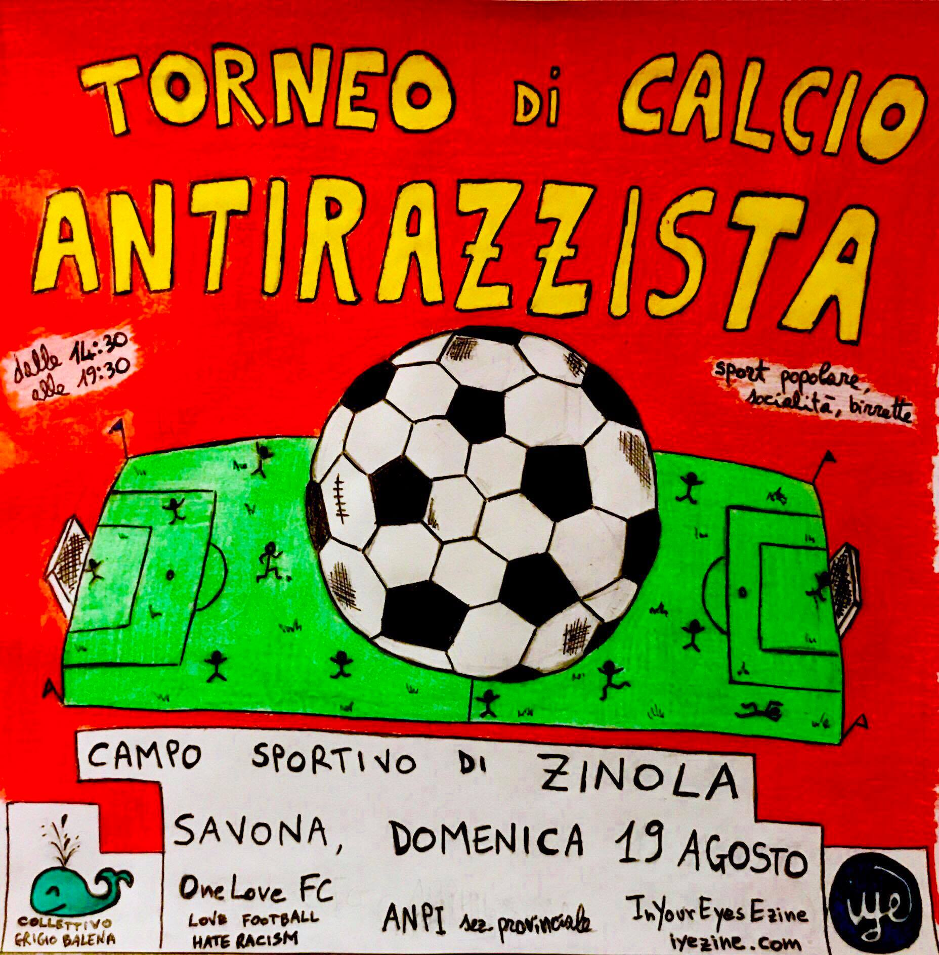 Torneo di Calcio Antirazzista a Savona 2018 1 - fanzine