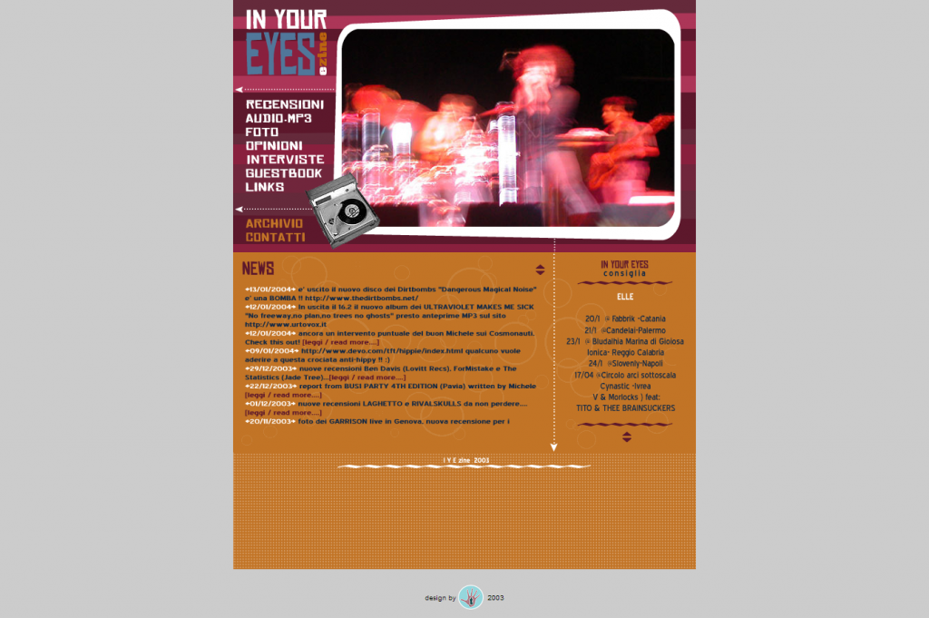 Copertina anno 2003 1 - fanzine