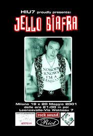 Foto Iyezine con Jello Biafra 1 - fanzine