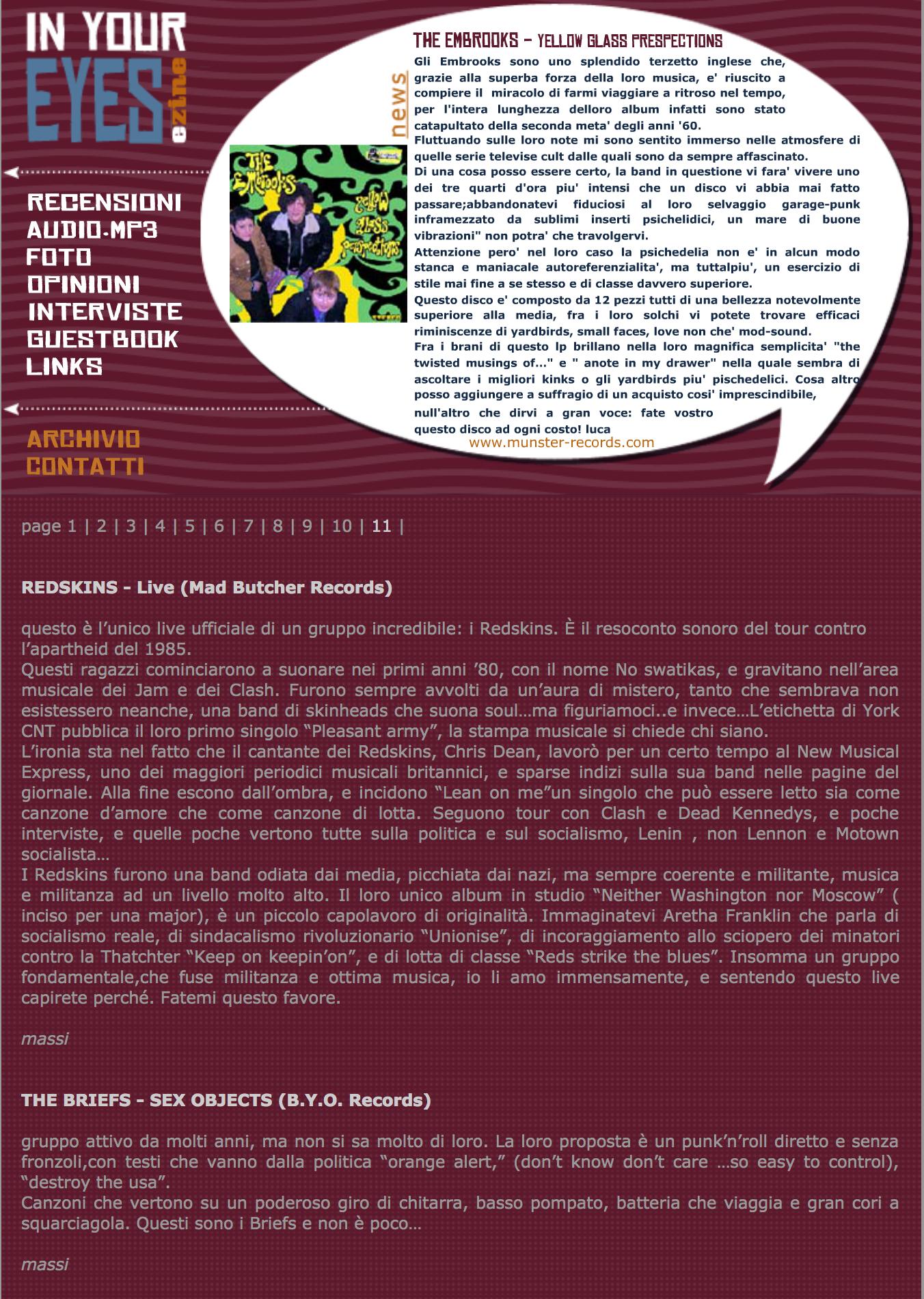 Copertina anno 2005 1 - fanzine