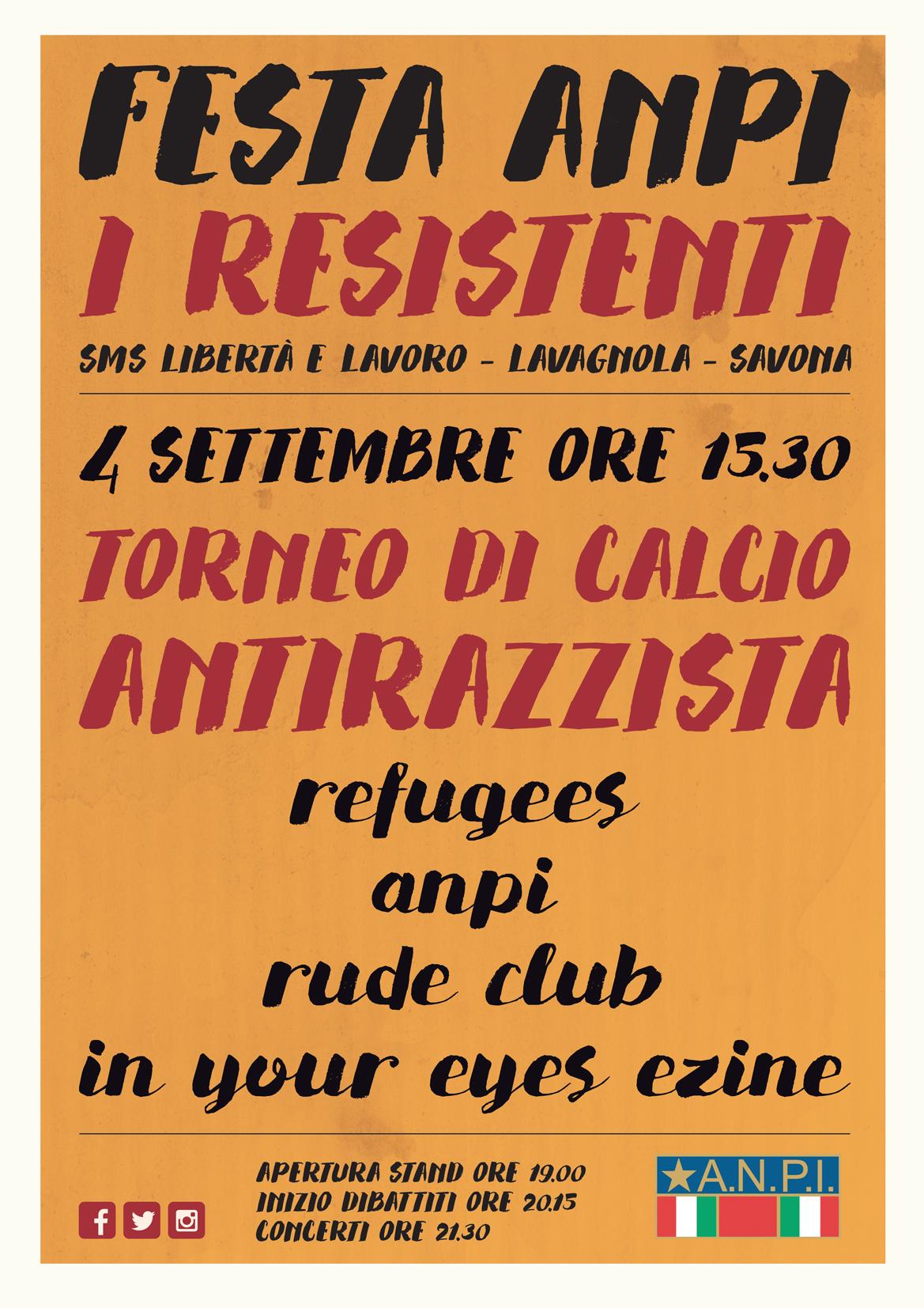 Torneo Antirazzista a Savona 2016 1 - fanzine