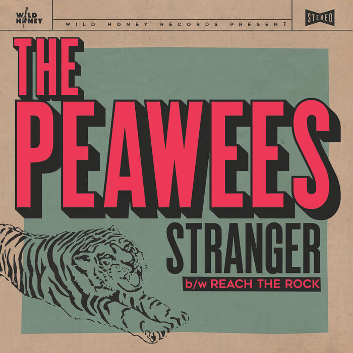 "The Peawees - Stranger / Reach The Rock 7"" 1 - fanzine"