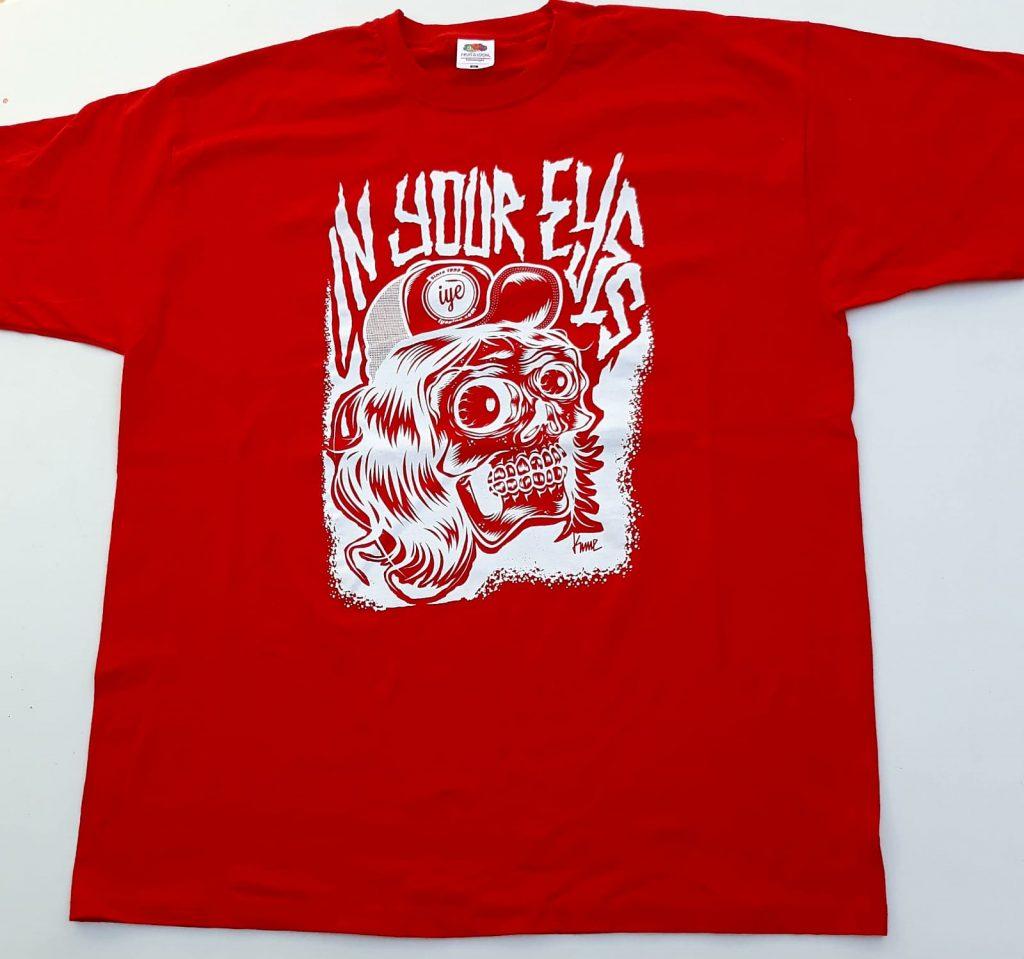 Tshirt grafica Mad Kime (Rosso-Bianca) 1 - fanzine