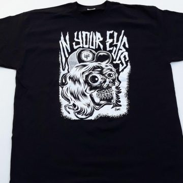 Tshirt  grafica Mad Kime (Nera) 3 Iyezine.com