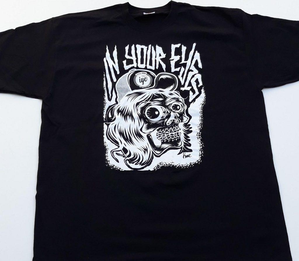 Tshirt grafica Mad Kime (Nera) 3 - fanzine
