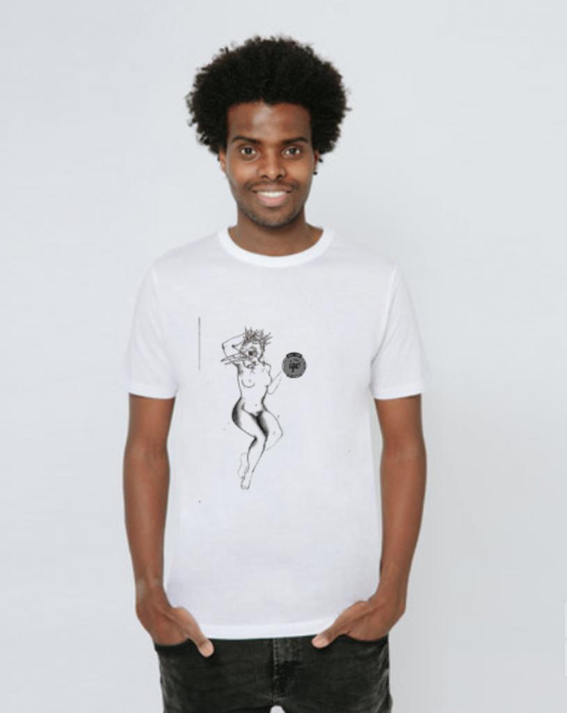 Tshirt  grafica Enrico Mazzone 1 Iyezine.com