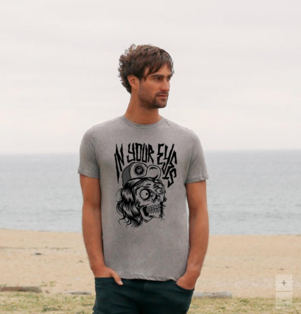 Tshirt grafica Mad Kime (Grigia) 1 - fanzine