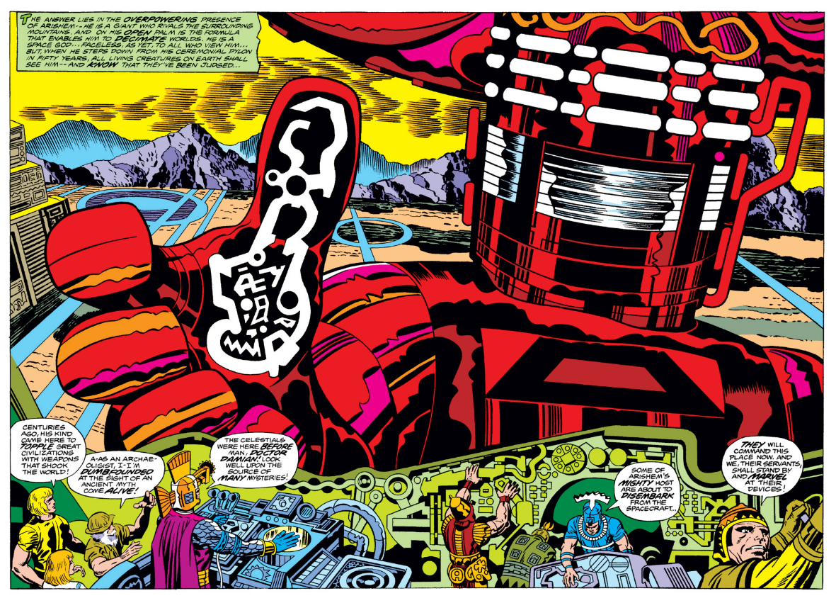Gli Eterni di Jack Kirby 7 - fanzine