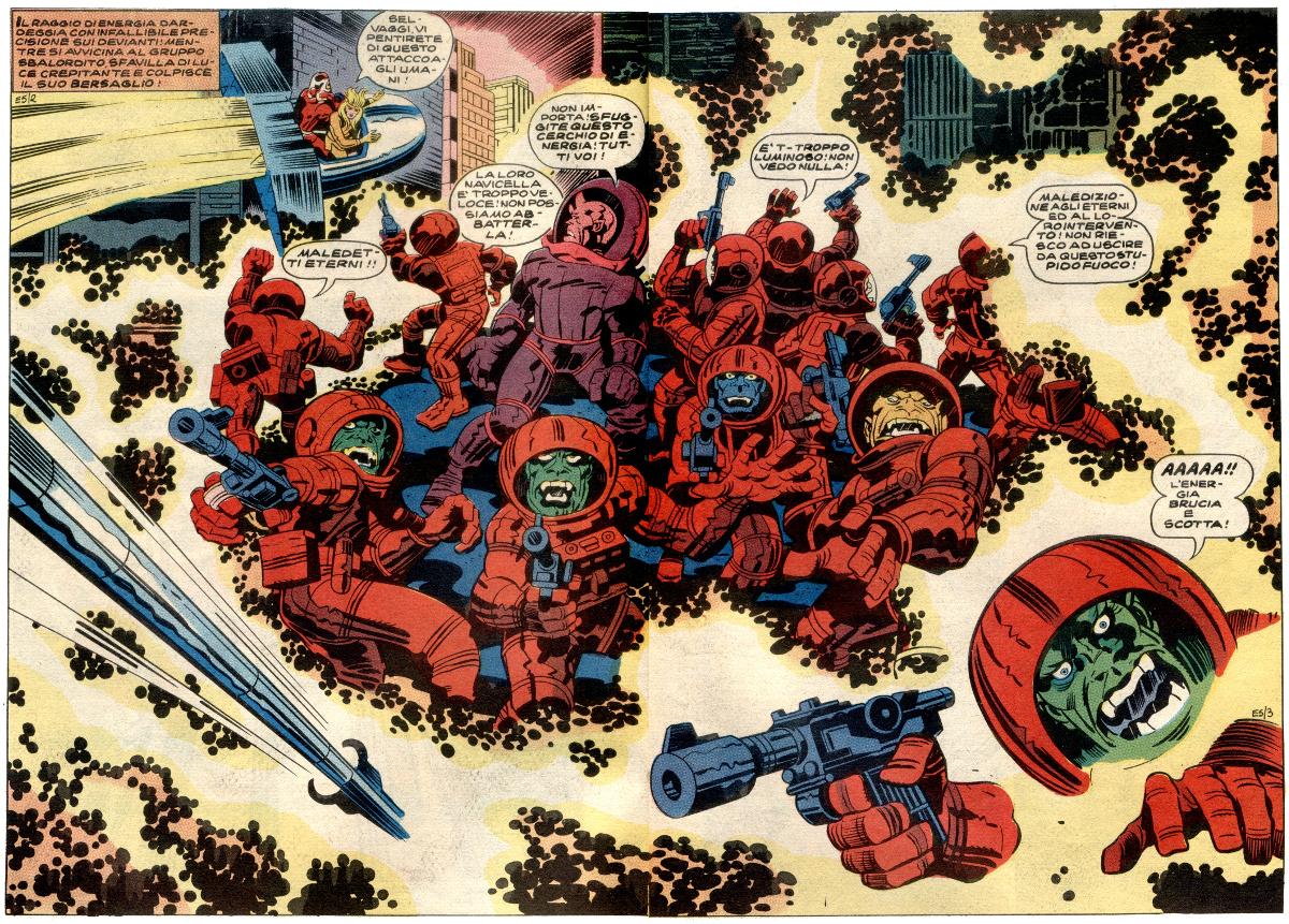 Gli Eterni di Jack Kirby 12 - fanzine