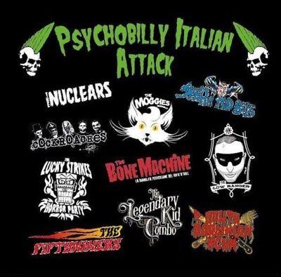 VV.AA. - Psychobilly Italian Attack 1 - fanzine