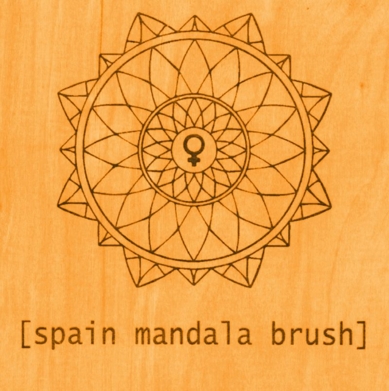 SPAIN - MANDALA BRUSH 1 - fanzine