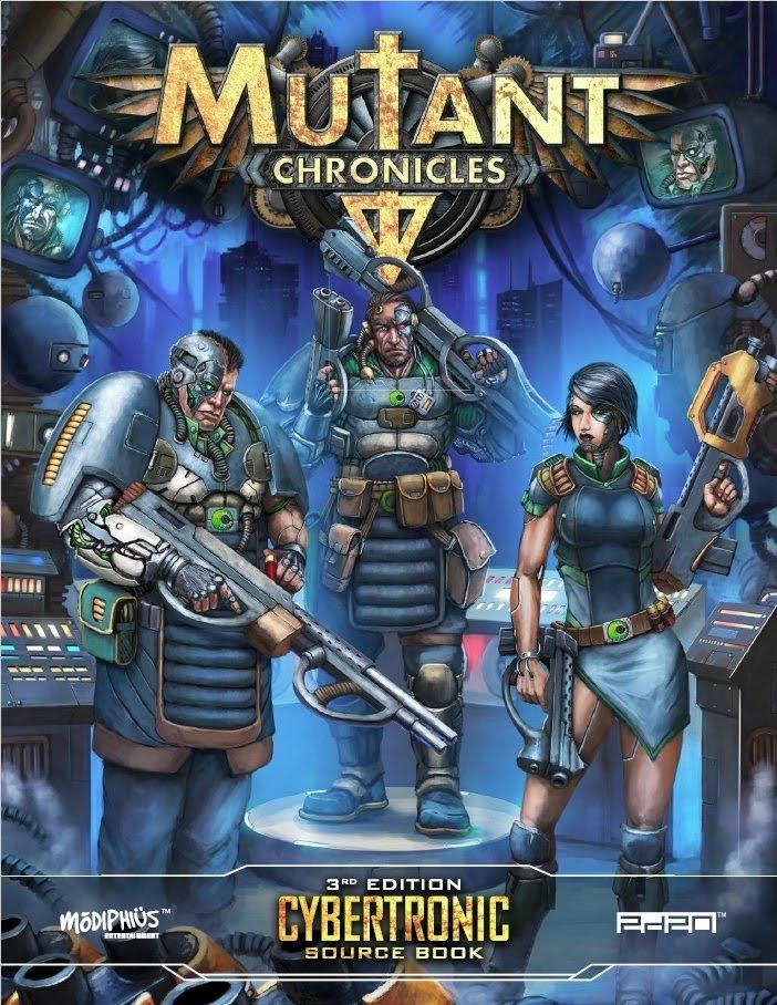 Mutant Chronicles: ambientazione cyberpunk per videogame e giochi di ruolo 3 - fanzine