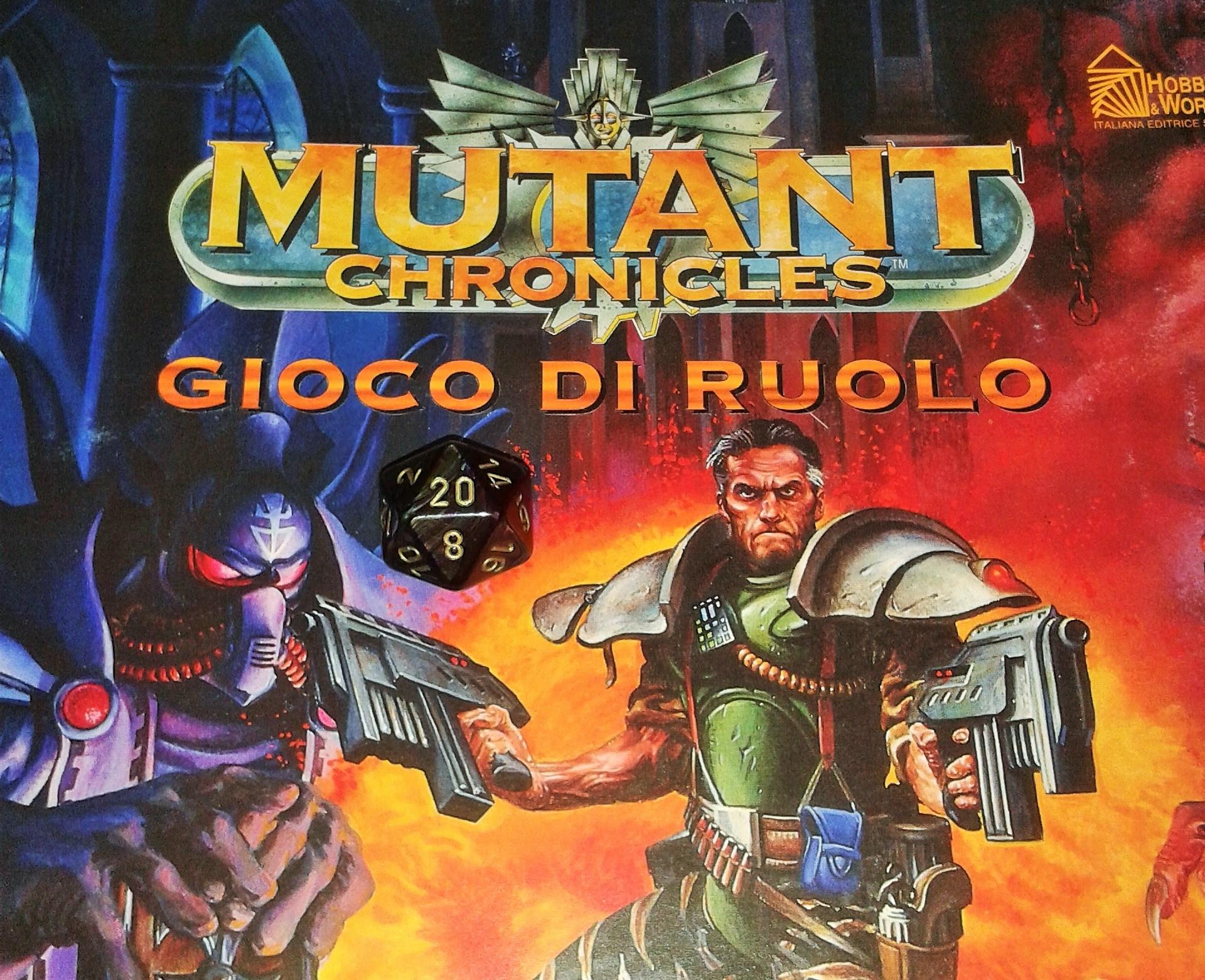 Mutant Chronicles: ambientazione cyberpunk per videogame e giochi di ruolo 1 - fanzine
