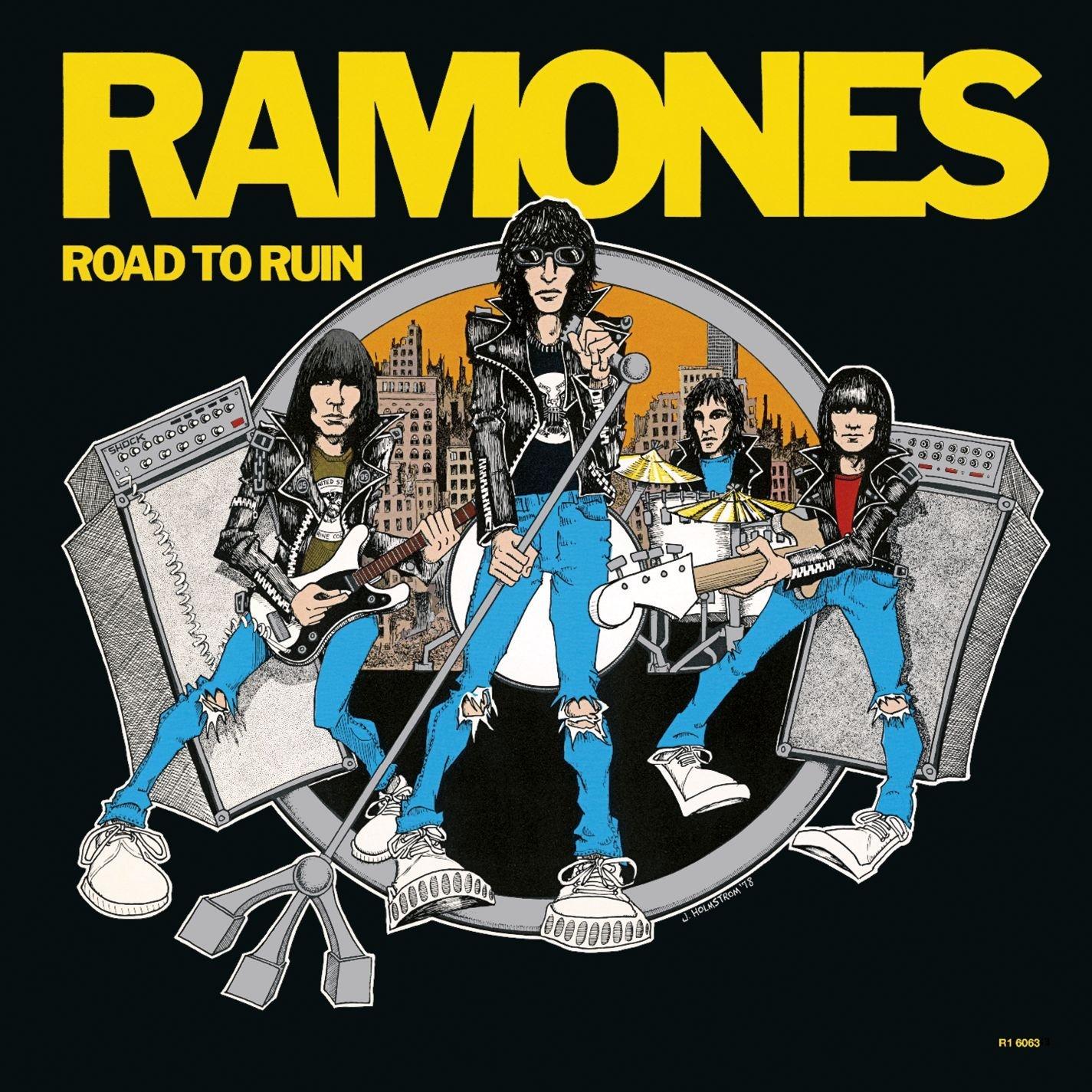 Ramones - Road to Ruin (Sire Records, 1978) 1 - fanzine