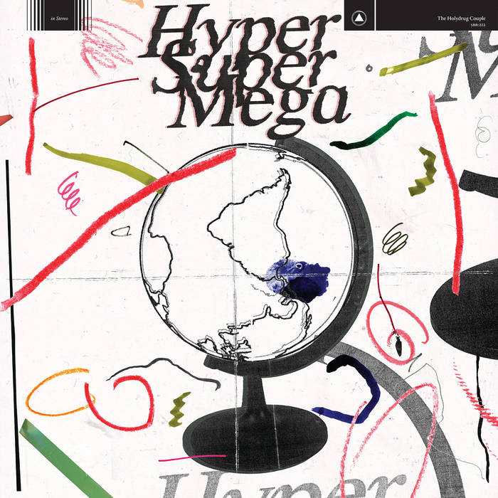 THE HOLYDRUG COUPLE - HYPER SUPER MEGA 1 - fanzine