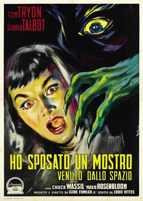 #TipsFromOuterSpace - Ho sposato un mostro venuto dallo spazio (Gene Fowler Jr., Usa,1958) 1 - fanzine