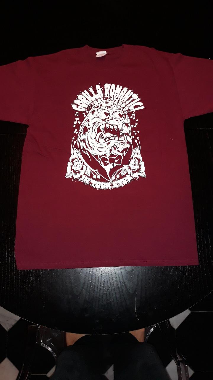 tshirt gorilla romatici iyezine