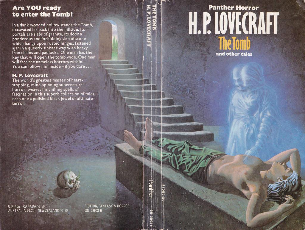 Lovecraftiana.1 - La tomba 4 - fanzine